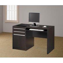 Contemporary Cappuccino Connect-it Computer Desk
