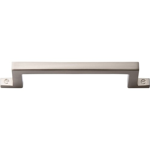 Campaign Bar Pull 3 3/4 Inch - Brushed Nickel