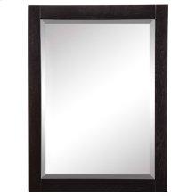 Briana Rectangular Mirror - Black Ash