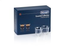 DeLonghi Essential Collection - 6 Espresso Glasses