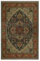 Maharajah Navy Rectangle 5ft 9in X 9ft Product Image