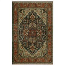 Maharajah Navy Rectangle 4ft 3in X 6ft