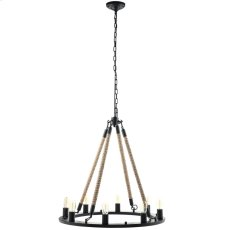 Encircle Chandelier in Black Product Image