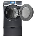 7.5 Cu. Ft. King-Size Capacity, Electric Touch Screen Lcd Dryer (Onyx)