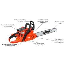 ECHO CS-370F 36.3cc Easy-Starting Chain Saw