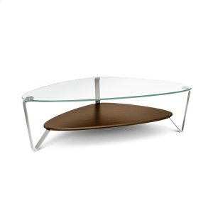 Bdi FurnitureLarge Coffee Table 1343 in Chocolate Stained Walnut