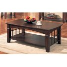 Abernathy Cherry Rectangular Coffee Table Product Image