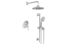 Full Pressure Balancing System - Shower and Slide Bar with Handshower