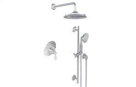 Full Pressure Balancing System - Shower and Slide Bar with Handshower