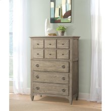 Myra - Five Drawer Chest - Natural Finish