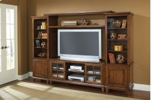 Grand Bay Entertainment Large Wall Unit - Pine
