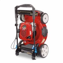 Mow N' Stow® Series Engines - Stores upright in 3 easy steps
