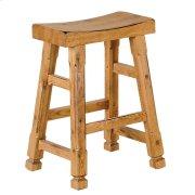 Sedona Saddle Seat Barstool/wooden Seat Product Image