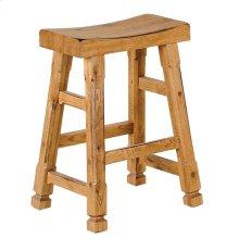Sedona Saddle Seat Barstool/wooden Seat