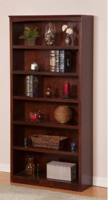 Harvard 72in Book Shelf in Walnut