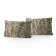 "16x24"" Size Juniper Ombre Pillow, Set of 2"
