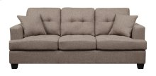Clearview - Sofa W/2 Pillows Brown