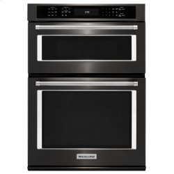 """27"""" Combination Wall Oven with Even-Heat True Convection (lower oven) - Stainless Steel with PrintShield™ Finish"""