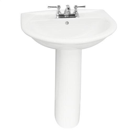 "Karla 550 Pedestal Lavatory - 4"" Centerset"