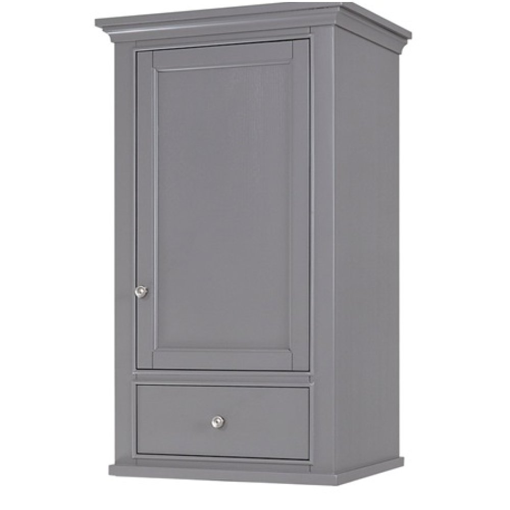 "Smithfield 21x18"" Linen Hutch - Medium Gray"