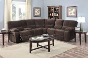 Ramsey Chocolate Recliner Sectional, M6052 Product Image