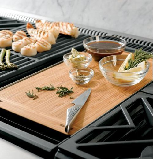 "Monogram 48"" Dual-Fuel Professional Range with 6 Burners and Griddle (Natural Gas)"