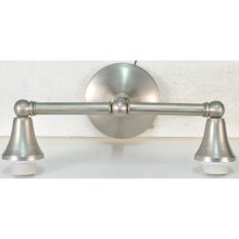 """14""""W Cone Cap 2 LT Wall Sconce Hardware"""