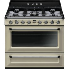 "Free-standing Dual Fuel Cavity ""Victoria"" Range Approx. 36"" Cream"
