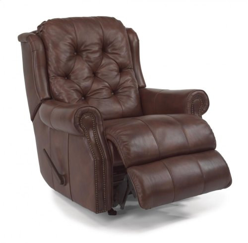 Fairfax Leather or Fabric Rocking Recliner