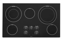 Maytag® 36-inch Wide Electric Cooktop with Dual-Choice Elements