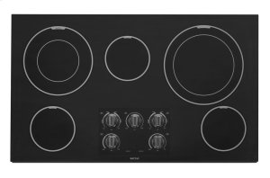 36-inch Wide Electric Cooktop with Dual-Choice Elements Product Image