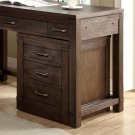Promenade - Mobile File Cabinet - Warm Cocoa Finish Product Image