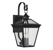 "Ellijay 12"" Steel Wall Lantern"