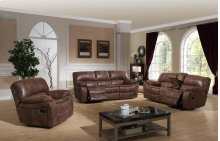 Sunset Trading Snuggle Up 3 Piece Reclining Living Room Set