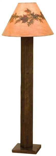 Floor Lamp - Barn Brown - Without shade