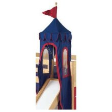 Fabric Tower : Blue/Red