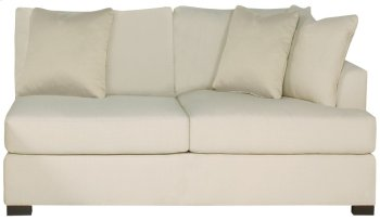 Adriana Right Arm Loveseat in Mocha (751) Product Image