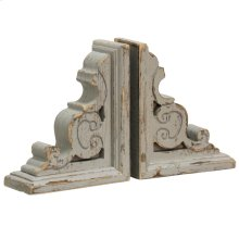 Tradition Book Ends  Set of 2  7in W. X 4in D. X 9in Ht.