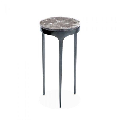 Camilla Drink Table - Italian Grey/ Gunm