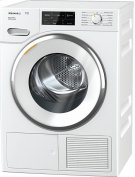 TWI180 WP Eco&Steam WiFiConn@ct T1 Heat-pump tumble dryer with WiFiConn@ct, FragranceDos, and SteamFinish. Product Image