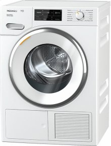 TWI180 WP Eco&Steam WiFiConn@ct T1 Heat-pump tumble dryer with WiFiConn@ct, FragranceDos, and SteamFinish.