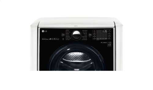 7.4 cu.ft. Ultra Large Capacity TurboSteam Gas Dryer w/ On-Door Control Panel