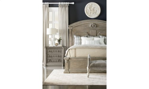 Arch Salvage King Chambers Panel Bed