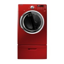 7.3 cu. ft. Capacity Electric Steam Dryer (Tango Red)