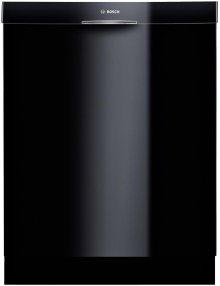 "24"" DLX Recessed Handle Dishwasher 300 Series- Black"