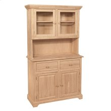 H-2B 2 Door Hutch (shown w/B-2 which is sold separately)