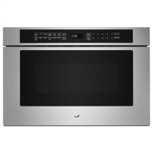 """Stainless Steel 24"""" Under Counter Microwave Oven with Drawer Design"""