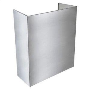 Optional Standard Depth Flue Cover for EPD61 Series Range Hood in Stainless Steel