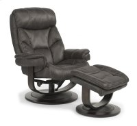 West Fabric Chair and Ottoman Product Image