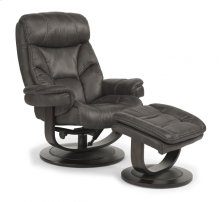 West Fabric Chair and Ottoman